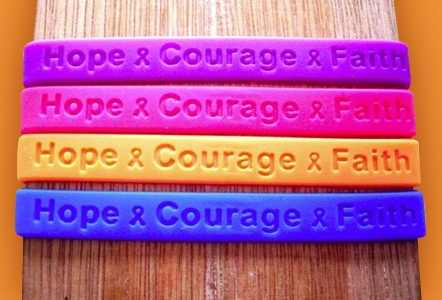 Support Store Awareness Wristbands