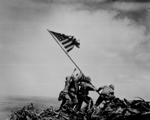Raising of the Flag at Iwo Jima