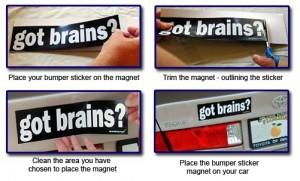 The Original Bumper Stickert Magnet