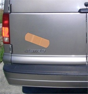 Giant Band-Aid Car Decal