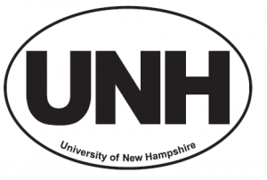 UNH Custom Oval Decal