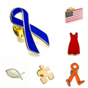 Awareness Lapel Pins On Sale