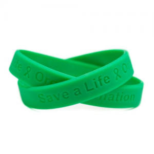 Organ Donor Awareness Wristband