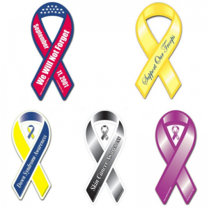 Ribbon Car Magnets