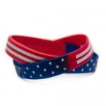 American Flag Wristband