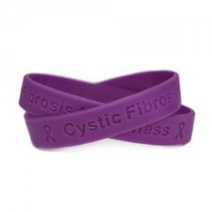 cystic fibrosis awareness wristband