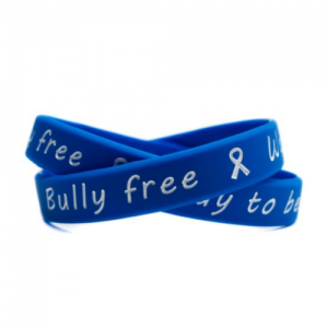 bully free - way to be wristband
