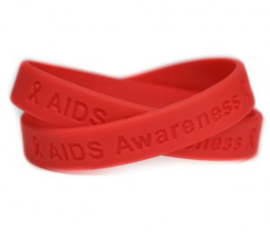 AIDS Awareness Wristband