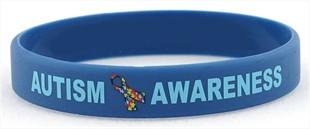 Autism Awareness Rubber Wristband