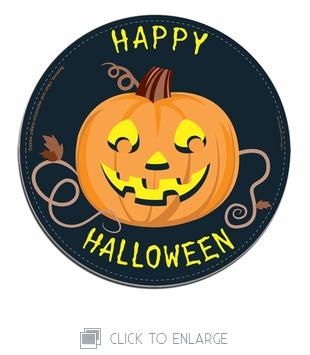 Happy Halloween Car Magnet