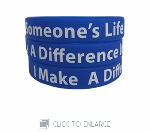 I Make A Difference Wristband