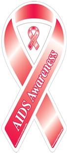 AIDS Awareness Ribbon Magnet