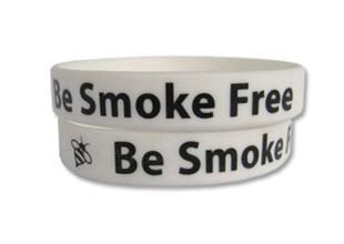 Be Smoke Free Quit Smoking Wristband