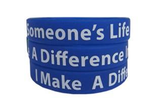 Mentoring Awareness Thank You Wristband