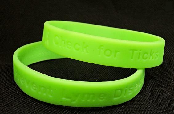 Lyme Disease Awareness Wristband