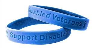 Support Injured Veterans Wristband