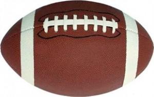 Football Car Magnet