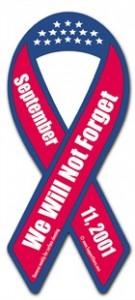 September 11th Ribbon Magnet