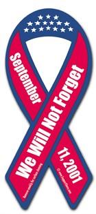 Ribbon Magnet Thursday – Remember September 11th