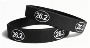26.2 Marathon Runner Wristband