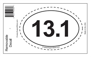 Free Oval Decal with $15 Purchase & Coupon
