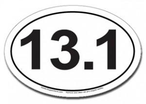13.1 Oval Car Magnet