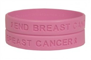 End Breast Cancer Awareness Wristband