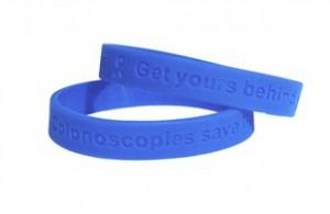 Colonoscopies Save Lives Wristband