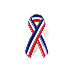 USA Ribbon Lapel Pin