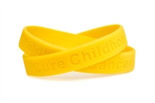 Cure Childhood Cancer Wristband