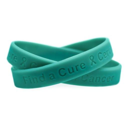 cervical cancer awareness wristbands