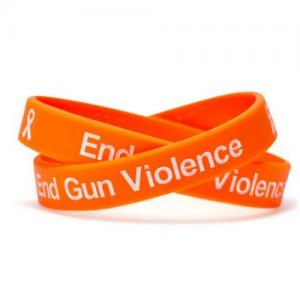 #NeverAgain Stop Gun Violence Wristband