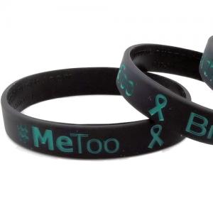 #MeToo Break the Silence Wristband
