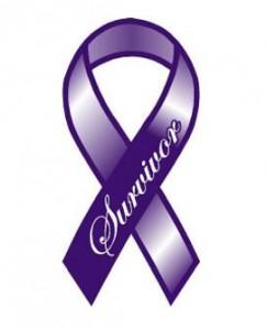 Cancer Survivor Ribbon