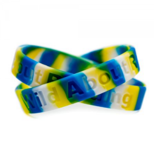 Wild About Reading Wristband