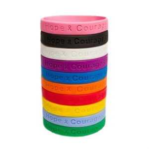 SupportStore Rubber Bracelet Wristbands