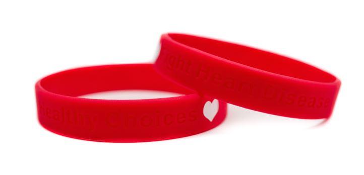 Heart Disease Awareness Wristband