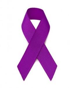 Purple Grosgrain Ribbon