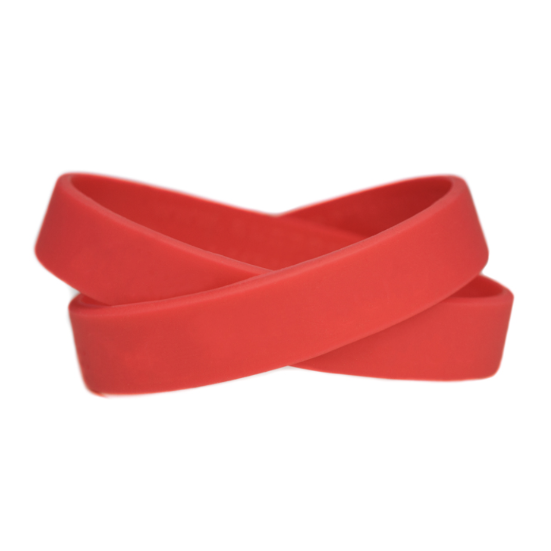 Solid Color Blank Wristbands