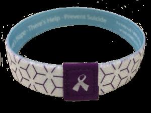 Suicide Prevention Fabric Wristband